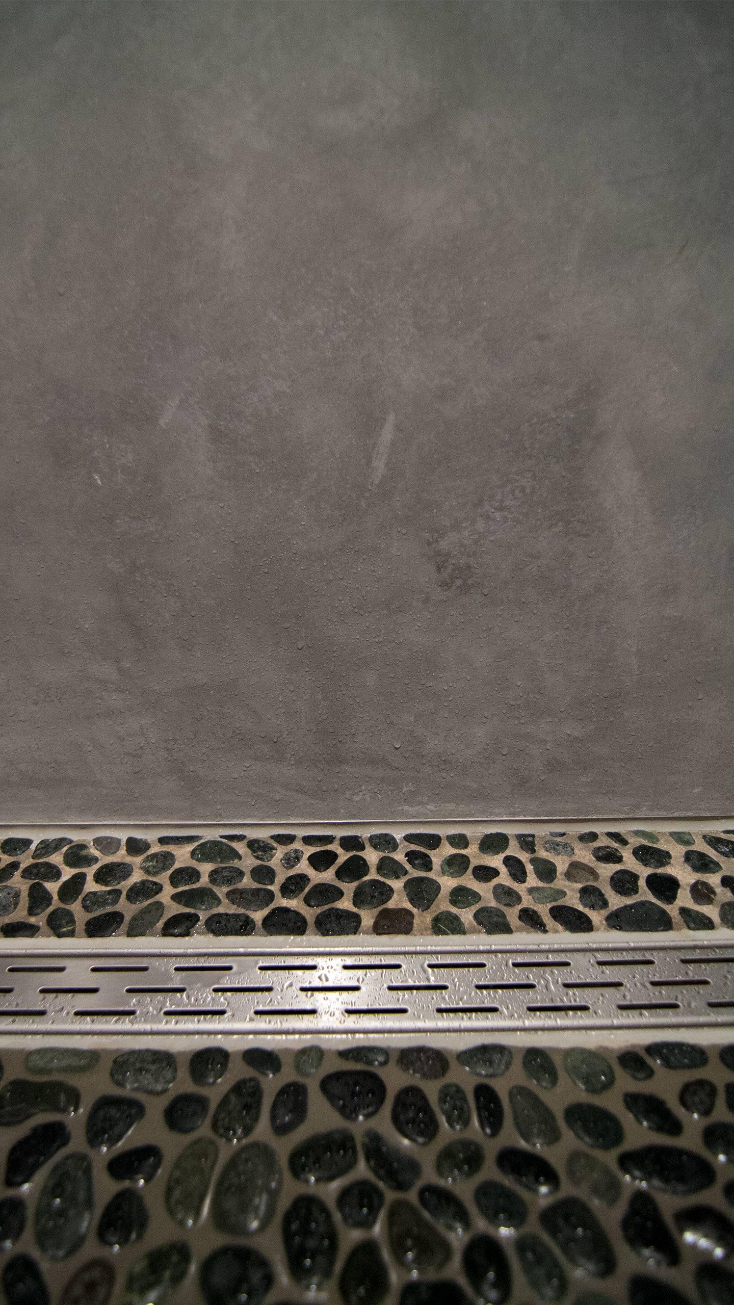 WaterproofStucco - Pearl Grey Bathroom, Waterproofing