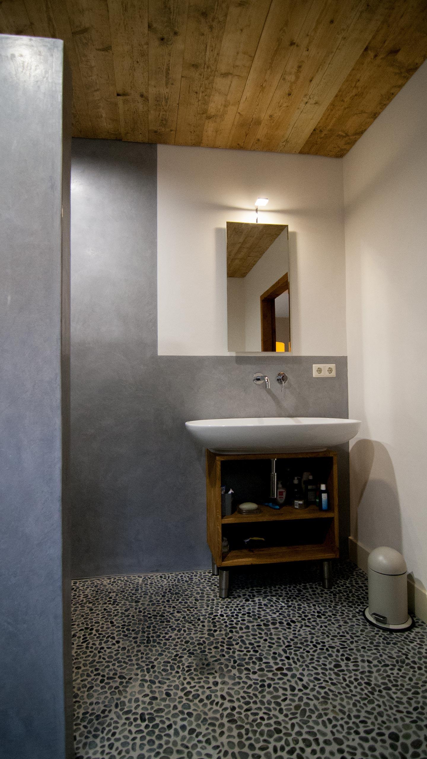 WaterproofStucco - Pearl Grey Bathroom, Combinations